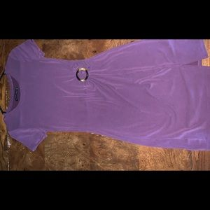 Abercrombie and Fitch Purple Bodycon Dress